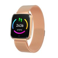 H4 Bluetooth Smart Bracelet IP68 Waterproof HD Colorful Touc...