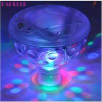풀 빛 부동 수 중 LED 디스코 조명 글로우 쇼 수영장 핫 욕조 스파 램프 루미아 디스코 piscine