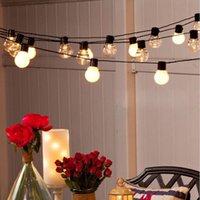 110 V 220 V 6 M 20 LED Düğün Dize Peri Işık Noel LED Küre Festoon Ampul LED Peri Dize Işık Açık Parti Bahçe Garland