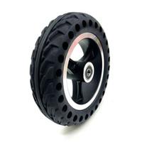 """200x50 Mobility Scooter Rollstuhl Räder Reifen 8x2"""" Zoll Vollreifen und Alu Radnabe für Gas Scooter Elektro-Fahrzeug"""