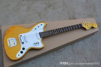 Top Quality Factory Guitar Golden JAGUAR Custom Shop stratoc...