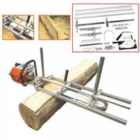 Yeni Taşınabilir Zincir Testere Değirmeni Makinesi Planking Freze Çubuğu Boyutu 18 Inç - 36 Inç