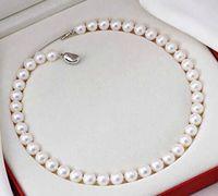 Best Buy Pearls Jewelry NATURAL 10-11MM MAR DEL SUR PERLA REDONDA BLANCA 18 PULGADAS 14K