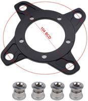 팔방 Bbs0102 체인 링 Adapter104 BCD 알루미늄 합금 체인 링 스파이더 어댑터 전동 8Fun 변환 키트 전기 자전거 모터 스틸