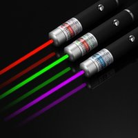 High Power 5mW Green + Purple Blue + Red Laser Pointer Pen V...