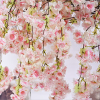 искусственный вишневый цвет дерево шелковые цветы гостиная украшения дома свадебные украшения цветок стены домашнего декора невесты букет ремесло