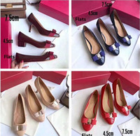 2019 Brand New Women Girl Grosgrain Vara Bow Leather Pump Va...