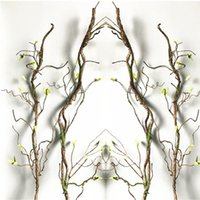 90cm Real Touch Fake Tree Branches Rattan For Home Hotel Wed...
