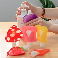 Çanta Upside Aşağı Ambalaj 28-30ml Emülsiyon Dağıtıcı Taşınabilir Tuvalet Toiletting Şampuan Kozmetik Alt şişe Seyahat Koleksiyonu