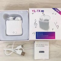 Bluetooth 5. 0 Wireless YL- 7X TWS Earphones Touch for Apple A...