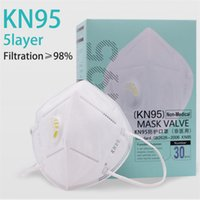 Labor insurance supplies kn95 mask With Breathing Valve Anti...