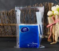 Sacchetto di plastica trasparente autoadesivo sigillo OPP, 5x7cm / 1000pcs striscia adesiva sacchetti risigillabile piccolo poli lucency, sacchetto di imballaggio di gioielli in plastica trasparente