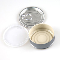 65*27mm smartbud can container ring pull tin cans with top c...