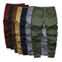 VOLGINS Hip Hop pantalón del basculador de pantalones de los hombres ocasionales adelgazan elástico para hombre Harem Pantalones Streetwear Pantalones masculinos