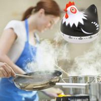 Minuteur Horloge Forme Belle cuisson du poulet Timers Compte à rebours de cuisson mécanique Compte à rebours Horloge numérique minuterie oeuf cadeau minuterie