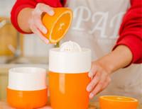 뜨거운 작은 부엌 수동 감귤류 Juicer for Orange 레몬 과일 압착기 100 % 원래 주스 Child Healthy Life Potable Juicer Machine