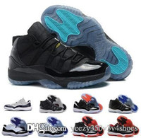 jordan air retro Originals Low 11 Snake Blu marino kin Bianco Nero 11S XI Man Shoes nero e verde taglia 36-45