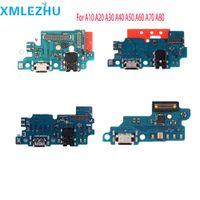 10PCS استبدال لسامسونج غالاكسي A10 A20 A30 A40 A50 A70 الشحن المرن USB شاحن حوض ميناء الكابلات المرنة