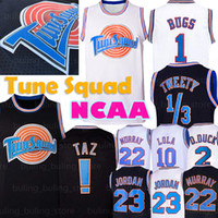 Tune Squad Jersey Film 23 Michael 1 Bugs Bunny NCAA! Taz 1/3 Tweety 10 Lola Bunny 2 Daffy Duck 22 Bill Murray