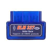 Мини Bluetooth elm327 версия V2.1 вафельный чип детектор неисправностей автомобиля OBDII
