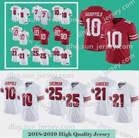 10 Jimmy Garoppolo Men s San Francisco Jersey 49er 7 Colin Kaepernick 25 Richard  Sherman 80 Jerry Rice 56 Reuben Foster 16 Joe Montan 79e3f1485