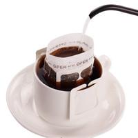 200 PCS Portátil DRIP Café Polvo Papel Papel Filtros Colgando Ear Drip Bag Filter Coffeeware Tool Herramienta