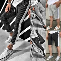 Gym Männer Slim Fit Hose Trainingshose dünner Jogger Sweat Trainingshose