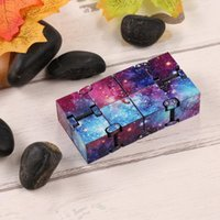 Fashion Colorful Infinity Cube for Stress Relief Anti Anxiet...