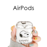 AirPods bluetooth wireless earphones with cartoon transparen...