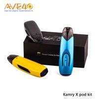 Kamry X Pod Kit Batterie au lithium 650mAh intégrée avec kit d'atomiseur de capacité d'atomiseur de 2 ml 100% d'origine