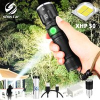 XHP50 Flashlight LED modalità impermeabile 5 illuminazione torcia di Zoomable Uso 18650 o batteria 26650 per le attività all'aria aperta