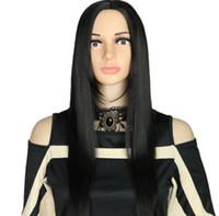 Gerade Spitze-Front Haar-Perücken für Frauen mit Baby-Haar-Medium Verkauf gerade volle Spitze-Perücken synthetische Perücke FZP184