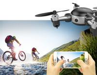 Drones Fotoğraflar İHA KY901 Katlanır Mini Quadcopter Wifi Gerçek Zamanlı Hava Fotoğraf İHA Sabit Yükseklik Deformasyonu Uzaktan Kumanda