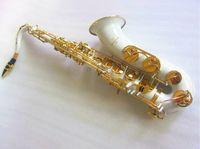 اليابان الجديدة ياناجيساوا T-992 Tenor Bb tenor saxophone playing White gold key professional Tenor sax With Mouthpecess