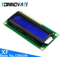 Freeshipping 10 pz / lotto LCD1602 1602 modulo e schermo 16x2 Carattere Display LCD Modulo HD44780 Controller e blacklight