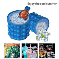 Silicone Ice Cube Maker Bucket Wine Ice Cooler Beer Cabinet ...