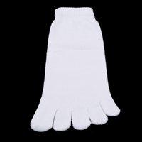 Sports Socks 5 Colors 1 Pair Autumn Winter Warm Style Unisx Men Women Five Finger Toe Sock