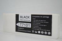 6PCS / set, cartucho de tinta T7101-T7106 completa para Epson SureLab D3000 cartucho de tinta de la impresora, Pre-recarga de la impresora 700 ml y patatas fritas
