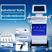 SPA18 5 in 1 Hydrodermabrasion Hydra Gesichts Bio Mikrostrom Sauerstoffspray LED Lichttherapie Akne Behandlung Hautverjüngung Spa-Ausrüstung