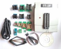 Freeshipping VS4800 Evrensel Programcı GAL EPROM FLAŞ 51 AVR PIC MCU SPI + SOP8 SOP28 tssop28 plcc44 32 28 20 soket + 12 adaptörleri IC klip