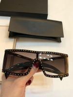 2019 yeni moda tasarımcısı 004 gözlük kare kare en kaliteli UV400 açık koruma gözlük asil basit tarzı güneş gözlüğü