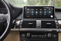 안드로이드 9.0 4 + 64 10.25 자동차 DVD GPS 네비게이션 라디오 오디오 스테레오 BT WIFI 미러링 링크 BMW X5 / x6 E70 / 71 (2011-2013) CIC