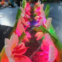 거 대 한 풍선 무대 꽃 LED 풍선 꽃 체인 결혼 무대 장식 풍선 꽃 체인 판매