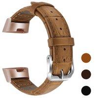 가죽 스트랩 핏 비트 충전 3 고품질 PU 스마트 밴드 손목 시계를 들어 핏 비트 팔찌 스마트 시계 액세서리 무료 배송