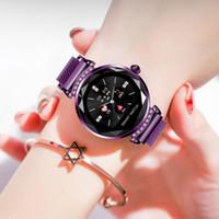 Mode smart watch frauen schöne armband pulsmesser schlaf überwachung bluetooth smartwatch verbinden ios android