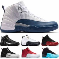 Mens designer WNTR gym red 12 Basketball Shoes 12s XII Flu g...