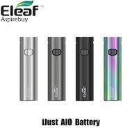 Eleaf Ijust AIO 1500mAh intégré LED Sortie batterie 30W Indicateur AIO Pod adapter Ijust cartouche cigarette électronique 100% Original