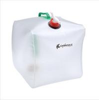 Pliage extérieure bouteille d'eau de sport d'alpinisme sac portable de camping plastique 20L grand seau de capacité