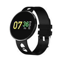 CF006H inteligente Pulseira Blood Pressure Monitor de freqüência cardíaca relógio inteligente cor da tela impermeável de Fitness Rastreador de pulso para o iPhone Android