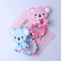 1pcs Baby Teether Oral Care Infant Molars Food Grade Koala S...
